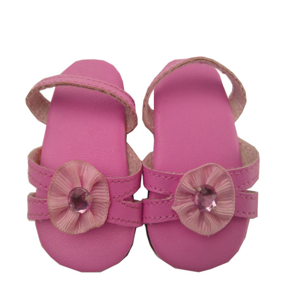 girl  doll shoes for 18 inch vinyl doll accessory