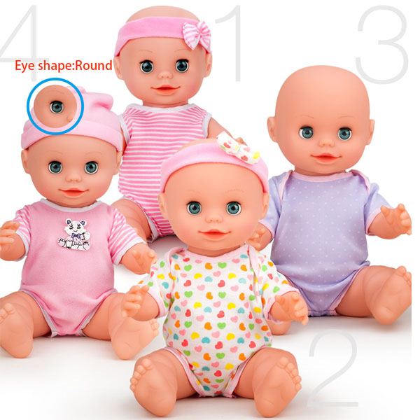 colorful doll moving eye in doll accessory