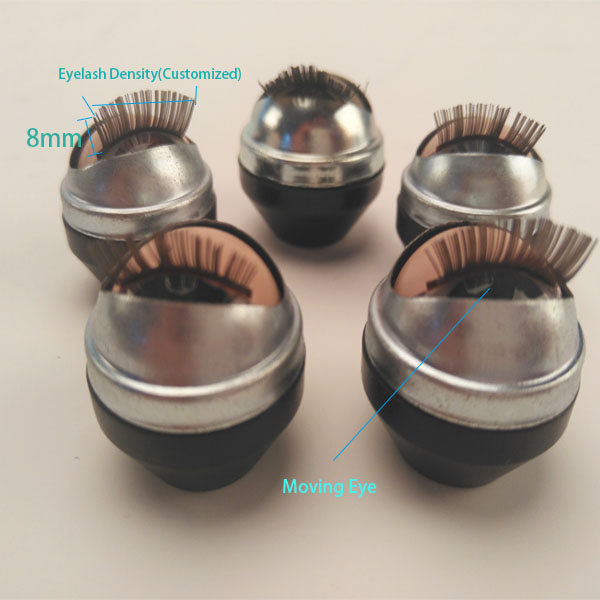 glass doll moving eye in doll accessory