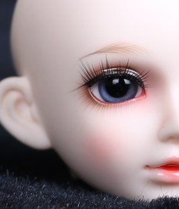 new design glass moving eye in 18 inch doll accessories
