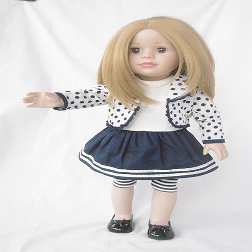 skin color lifelike long hair girl doll