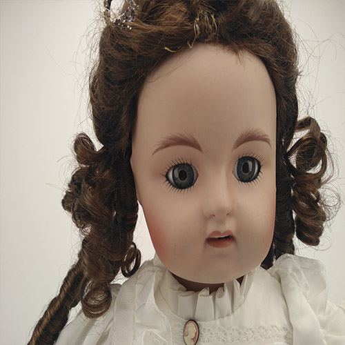 long curly hair girl doll for 18 inch vinyl doll