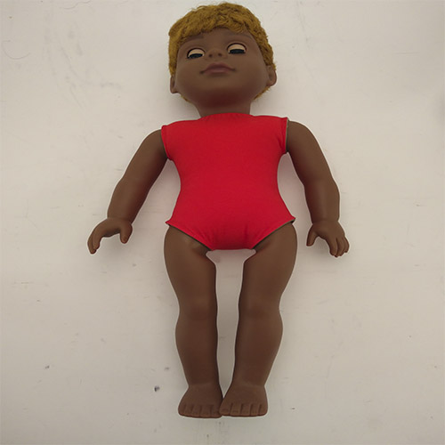 lively child 18 Inch african baby  boy toy vinyl doll