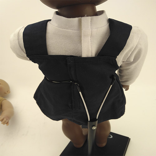 African boy doll for 18 inch vinyl doll