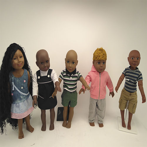 18 inch vinyl doll african  doll for kid birthday  gift